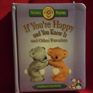 "Kids book ""if your happy and you know it"